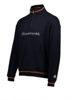 Billionaire Boys Club 1/4 Funnel Neck Sweat - Navy