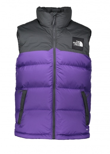 North Face 1992 Nuptse Vest - Purple
