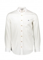 2 Button Collar Shirt 100 - White