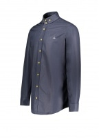 Vivienne Westwood 2 Button Krall Shirt - Navy