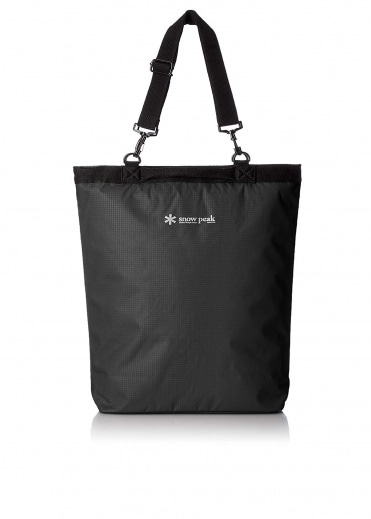Snow Peak 2 Way Tote Bag - Black