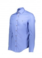 3 Button Shirt - Blue