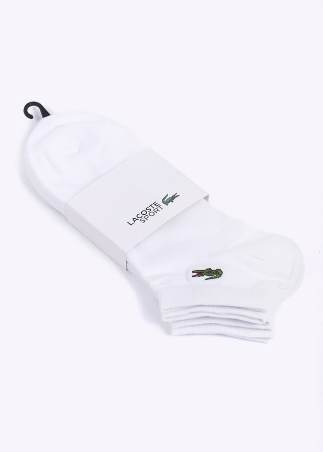 3 Pack Socks - White