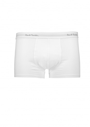Paul Smith 3 Pack Trunks - White