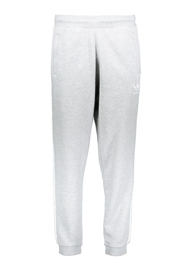 Adidas Originals Apparel 3-Stripe Pants - Grey