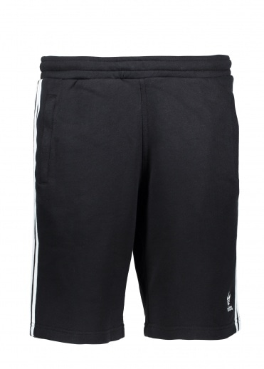 Adidas Originals Apparel 3 Stripe Short - Black