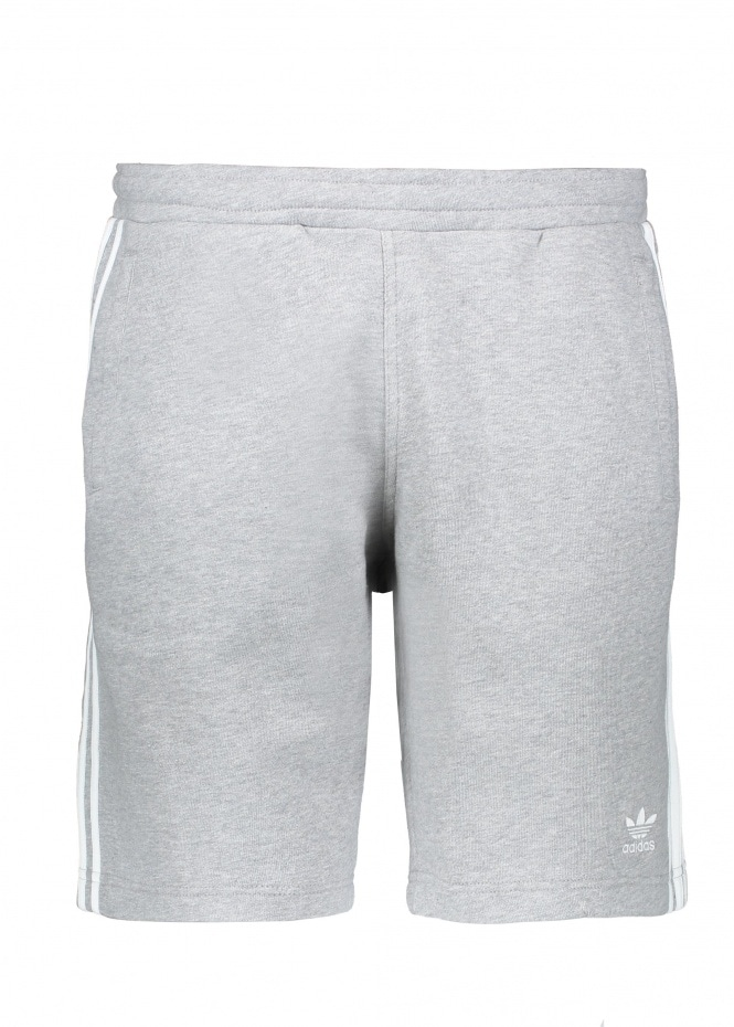adidas Originals Apparel 3-Stripe Short - Grey