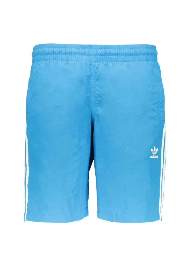 adidas Originals Apparel 3 Stripes Swim Shorts - Blue