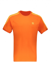 adidas Originals Apparel 3 Stripes T-Shirt - Orange