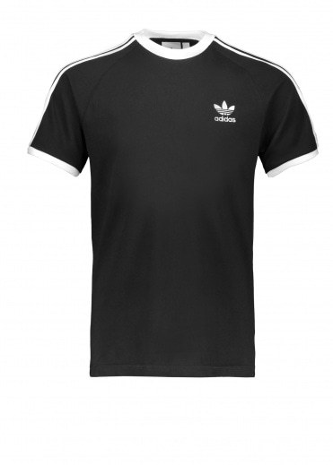 Adidas Originals Apparel 3-Stripes Tee - Black