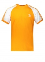 adidas Originals Apparel 3-Stripes Tee - Orange