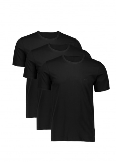 Hugo Boss 3P RN T-Shirt - Black