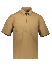 Satta 3RD Zip Shirt - Khaki