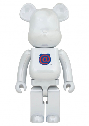 400% 1st Model White Chrome