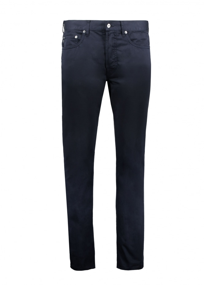 5 Pocket Slim Jeans - Navy