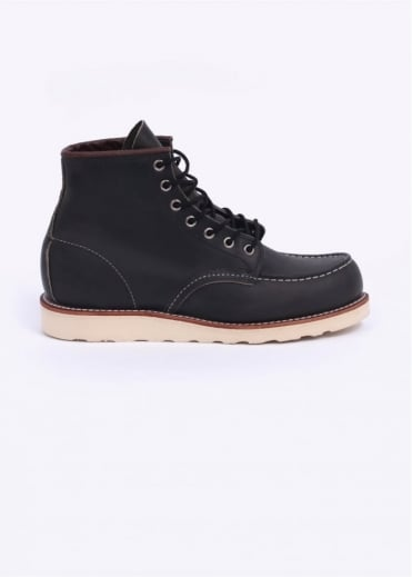 """Red Wing Shoes 6"""" Classic Moc Boots - Charcoal"""