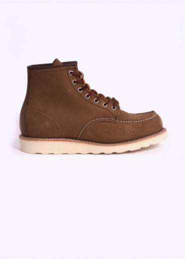 """Red Wing Shoes 6"""" Classic Moc Boots - Olive Mohave"""