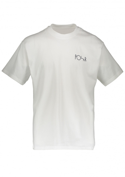 Polar Skate Co 69 Fill Logo Tee - White