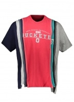 Needles 7 Cuts Wide College Tee - Red