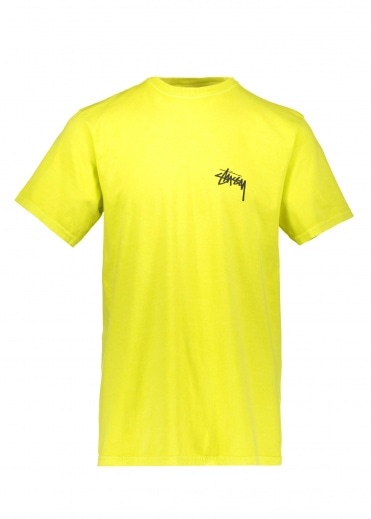 Stussy 8 Ball Pig Dyed Tee - Lime