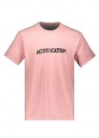 Eden Power Corp Acidification Recycled T-Shirt - Coral