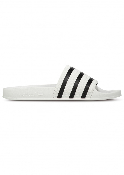adidas Originals Footwear Adilette Slides - White / Core Black