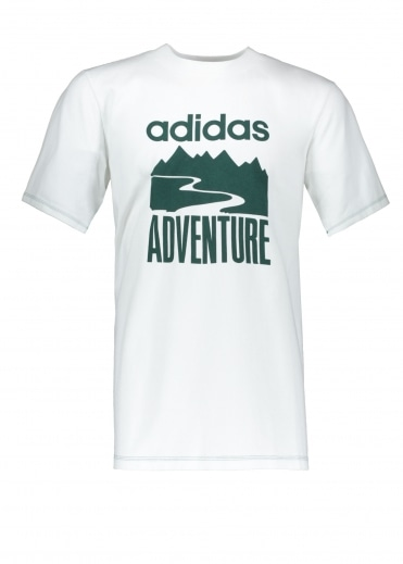Adidas Originals Apparel Adventure Tee - White