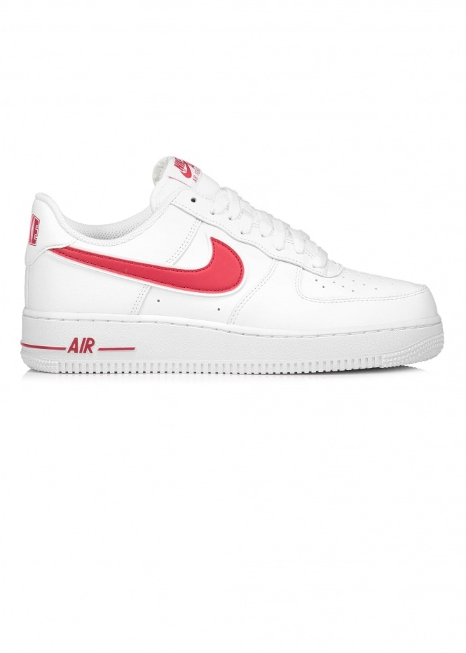 Air Force 1 07 3 - White / Red