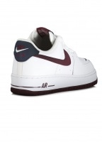 Air Force 1 07 LV8 - White / Night Maroon