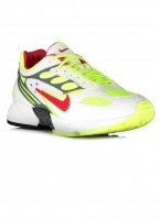 Air Ghost Racer - White / Atom Red