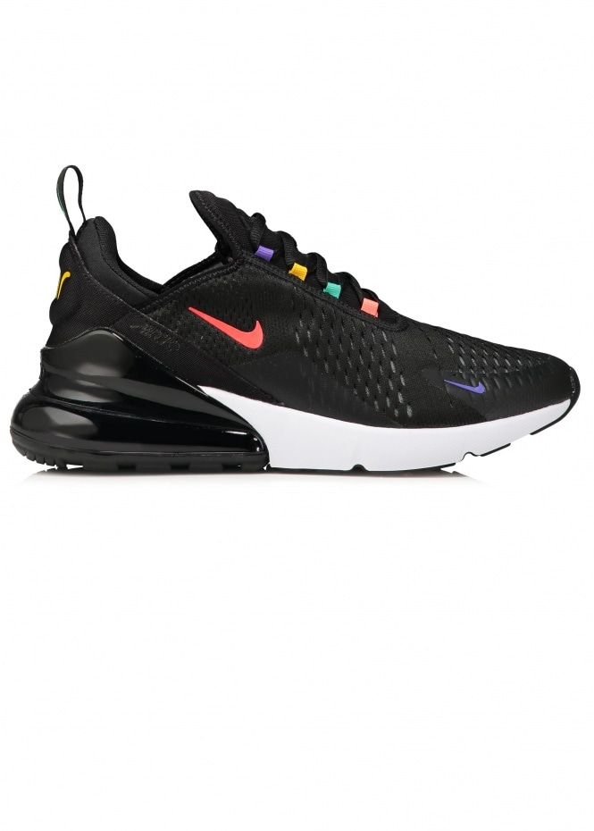 Air Max 270 - Black / Flash Crimson