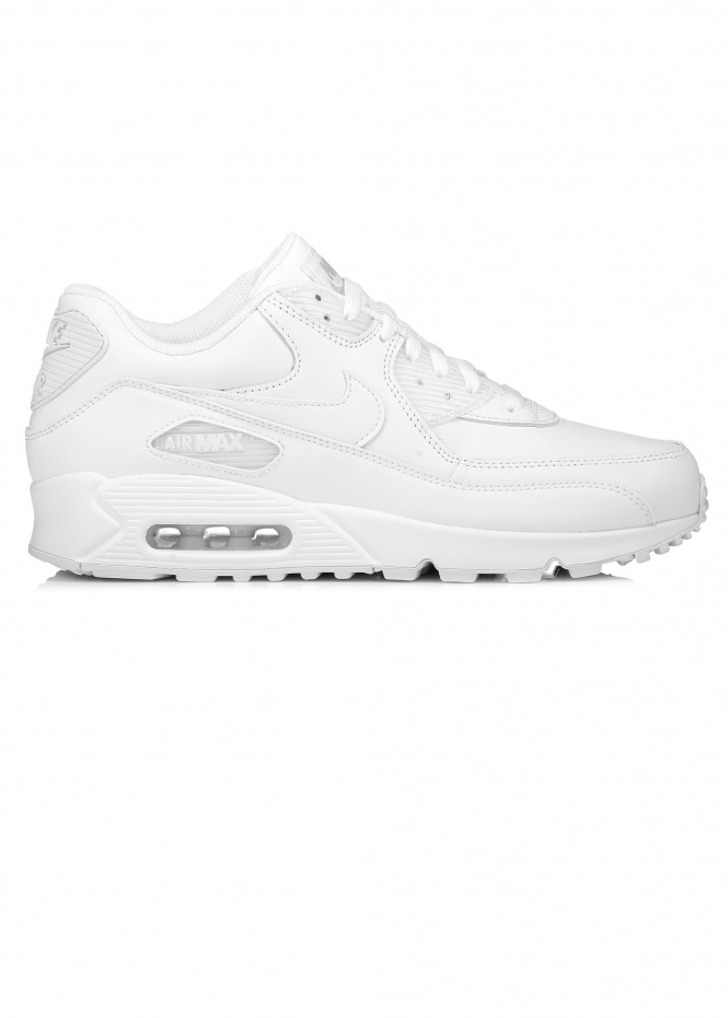 Air Max 90 Leather - White