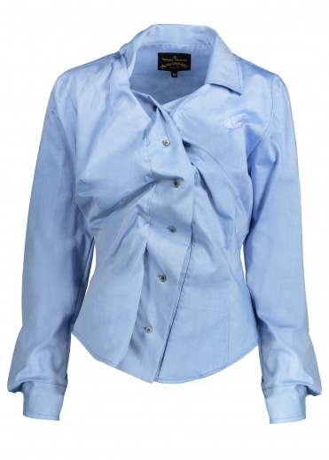 Vivienne Westwood Anglomania Alcoholic Shirt - Light Blue