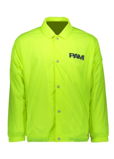 Perks and Mini Alien Morphosis Coach Jacket - Fluro Yellow