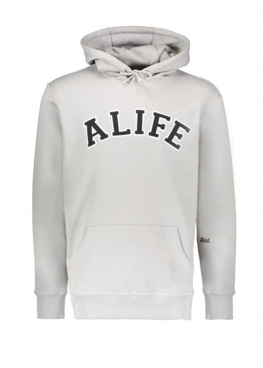 Alife Collegiate Hoodie - Heather Grey