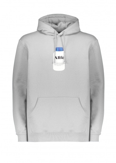 Alife Painkiller Hoodie - Heather Grey