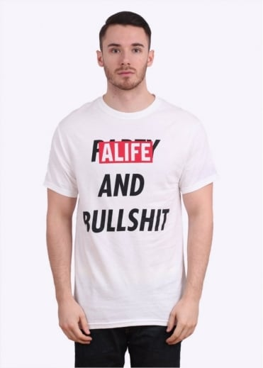 Alife Party & Bullshit Tee - White