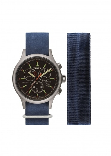 Timex Allied Chrono - Antique Silver