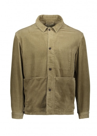 Satta Allotment Overshirt - Taupe