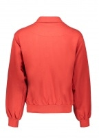 Anglomania 1/4 Zip Sweater - Red
