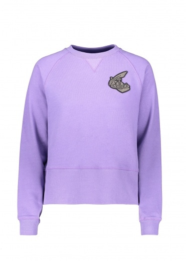 Vivienne Westwood Anglomania Athletic Sweatshirt - Lilac