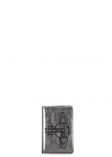 Vivienne Westwood Accessories Anna Small Credit Card - Silver