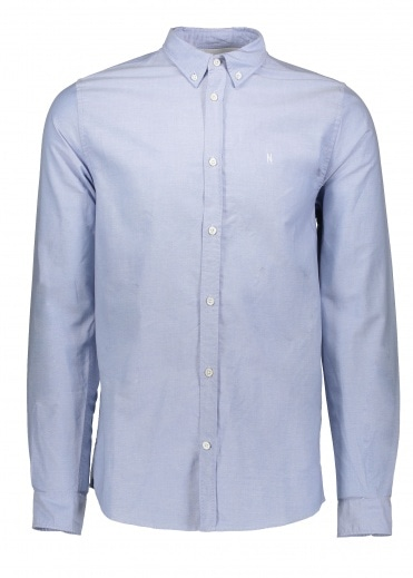 Norse Projects Anton Oxford - Pale Blue