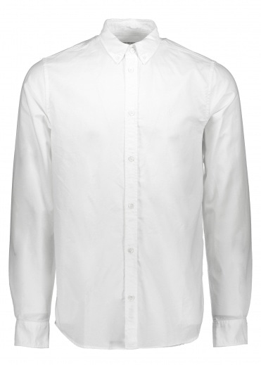 Norse Projects Anton Oxford - White
