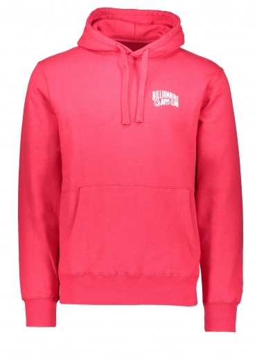 Billionaire Boys Club Arch Logo Hooded Sweat - Red