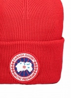 Canada Goose Arctic Disc Toque Hat - Red