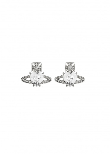 Vivienne Westwood Accessories Ariella Earrings - Rhodium
