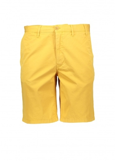 Norse Projects Aros Light Twill Shorts - Sunwashed Yellow