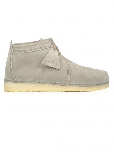 Clarks Originals Ashton Boot Suede - Grey