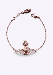 Vivienne Westwood Accessories Astrid Bracelet - Pink Gold